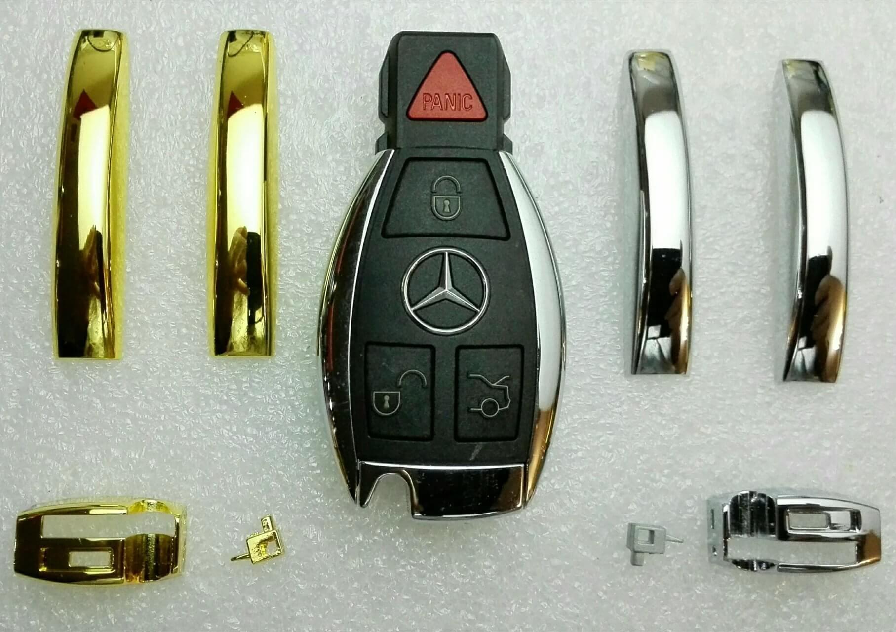automobilių raktų korpusai